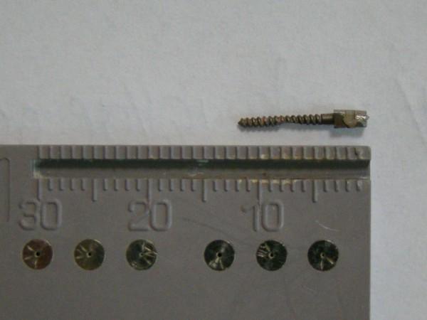 Ryc. 4 Usunięty standardowy wkład z zęba 22