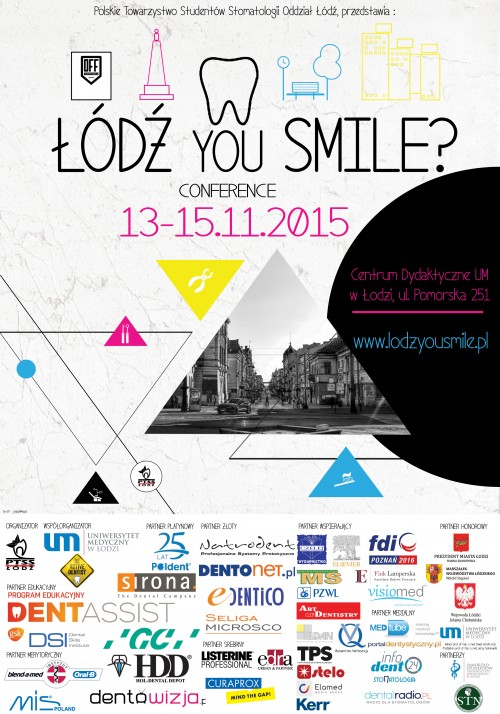 PLAKAT PTSS  LODZ YOU SMILE